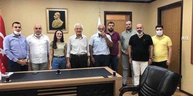CHP'LİLERDEN BAŞKAN ASAF GÜVEN'E TEŞEKKÜR ZİYARETİ