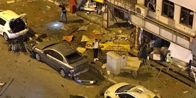 İSKENDERUN'DA CANLI BOMBA SALDIRISI